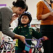 100 kids from east Portland families now have new bikes to ride