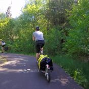 What's it like to ride around Tophill Trestle on the Banks-Vernonia Trail?
