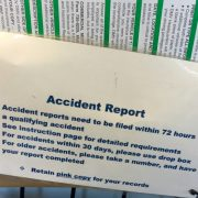 Crashes are still accidents at the Oregon DMV