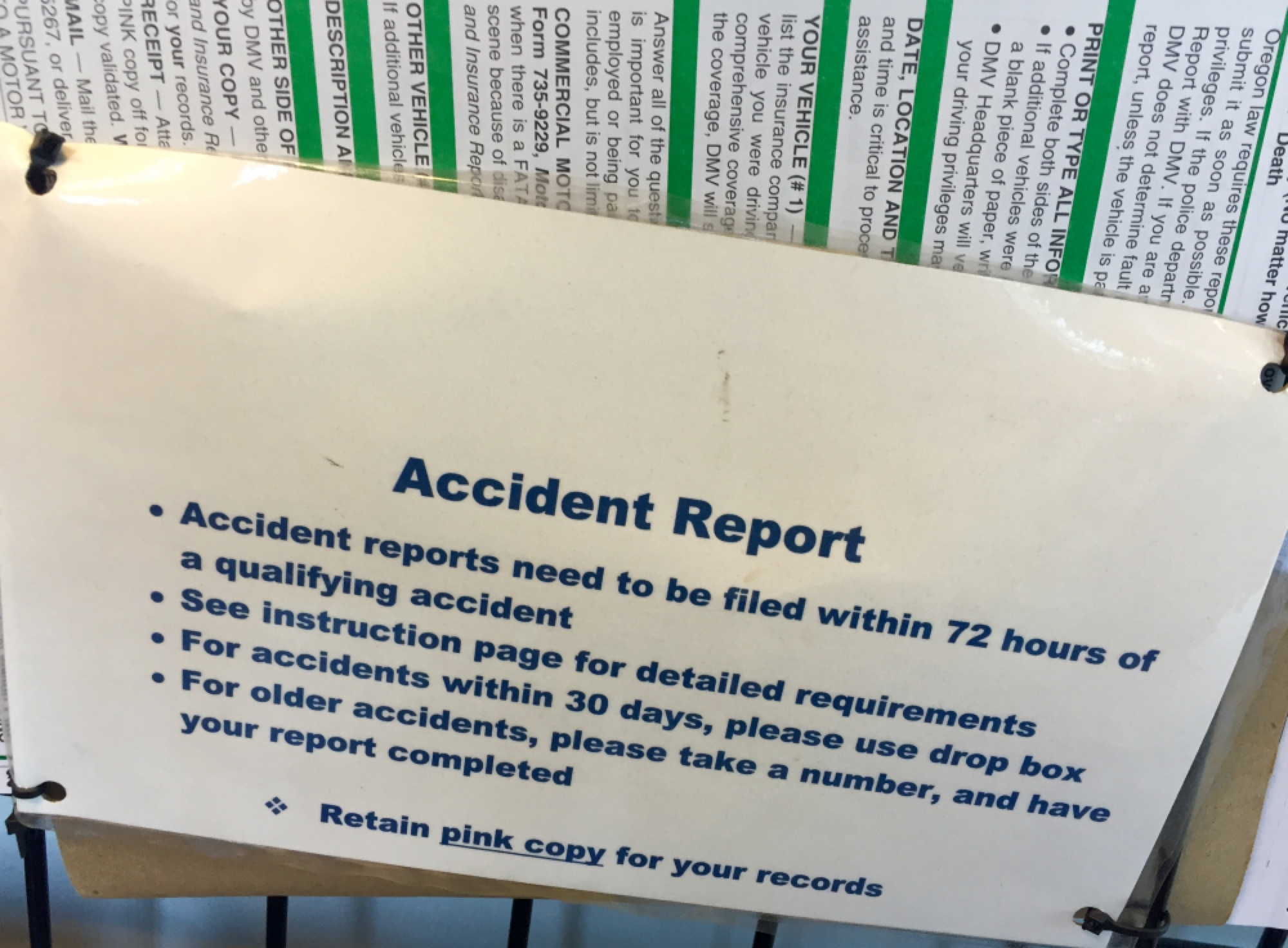 Crashes are still accidents at the Oregon DMV - BikePortland org