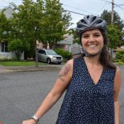 Five months after Clinton diverters, most people who bike say it's much improved