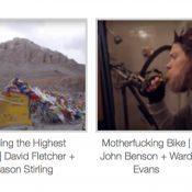 Filmed by Bike starts tonight!