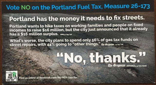 gax tax flyer