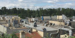 Precision's factory in southeast Portland. (Photo: South Portland Air Quality)