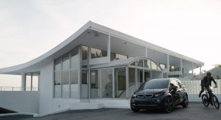 Love the symbolism of leaving the car in the driveway.(Screengrab from Stromer)