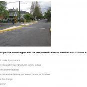 PBOT wants your opinion on Clinton Street diverters and Vision Zero