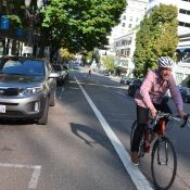 $8.4 million downtown protected bike lane plans will start this summer, city says