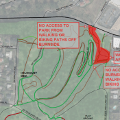 Washington Park path at Burnside and NW 24th to close for improvements
