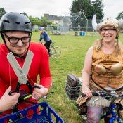 Juggling, rollerblade camping & pasta neckties: Pedalpalooza picks for weekend 3