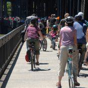 Bike traffic advisory: Expect delays on bridges due to repairs and Fleet Week