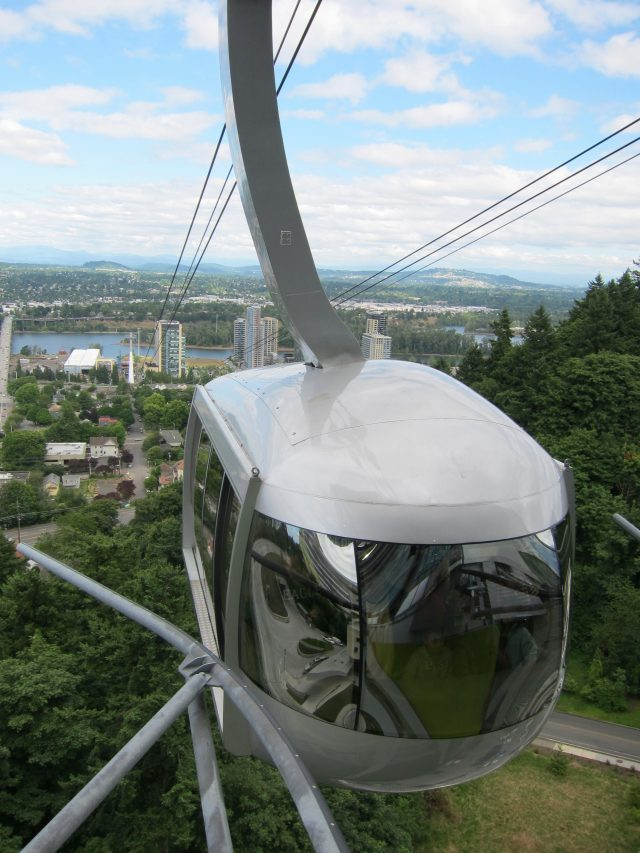 Aerial Tram from above