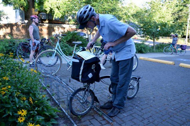 bike parking at EPNO