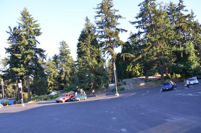 gateway parking lot