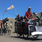 Local Mad Max fans rode eternal, shiny and chrome on Saturday