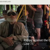 The story of today's Portland in the path of the No. 75 bus