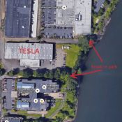 Good news: Tesla agrees to build Willamette Greenway path segment