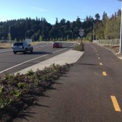 Subscriber Post: First look at ODOT's new Sunrise Corridor bikeway