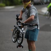 Here's what Portland's first Brompton Urban Challenge looked like