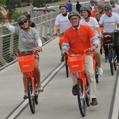 """""""This is awesome!"""" Photos and notes from the Biketown launch event"""