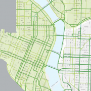 Long-term plan for central-city bikeways moves toward council approval
