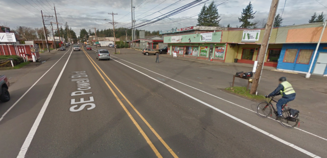 outer powell street view