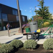 Shh! Community college uses cargo trikes instead of trucks to keep campus quiet