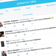 Pokemon Go is a boon for biking