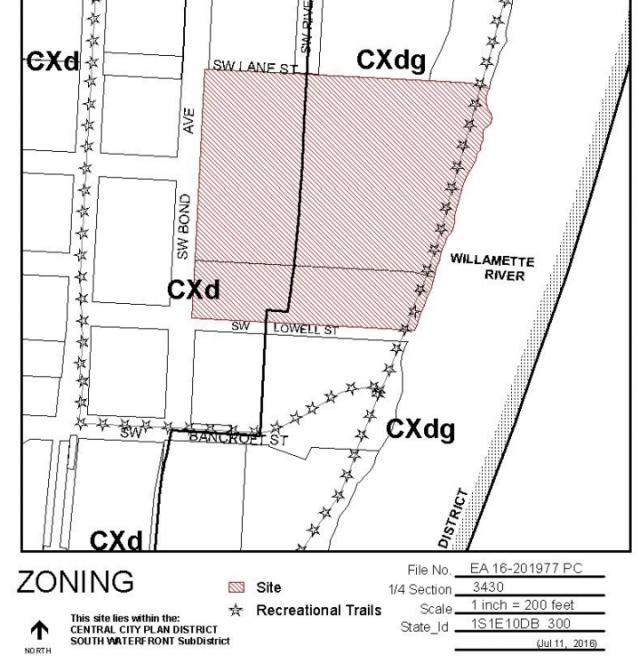 south waterfront plan