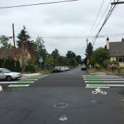 "Say hello to ""crossbikes"" — Portland's latest bikeway innovation"