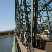 Ask BikePortland: What's the correct way to cross the I-5 bridge?
