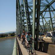 Ask BikePortland: What's the correct way to cross the I-5 bridge?