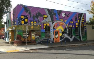 The creatively painted Citybikes Annex on Ankeny and 7th is closing its doors.(Photos: Citybikes)