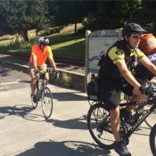 Bike Theft Task Force officers host ride-along on the Springwater Corridor