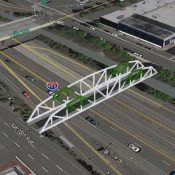 Carfree bridge across I-405 at NW Flanders wins $2.8 million state grant