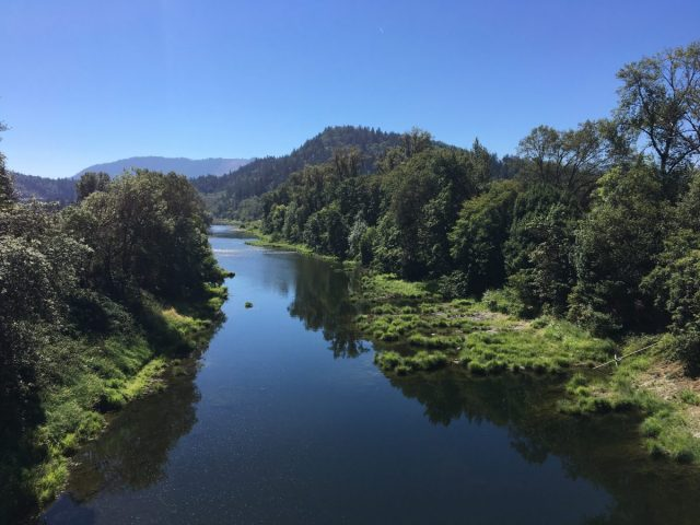 South Umpqua River near Surprise Valley.
