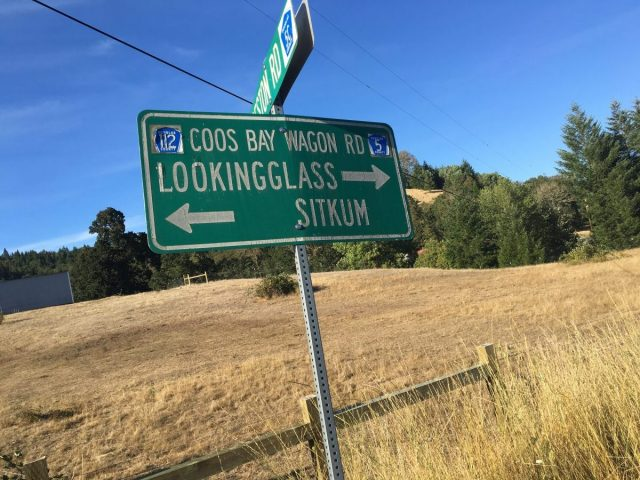 Lookingglass-Sitkum sign
