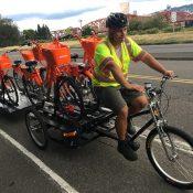 Portland now using pedal-powered trikes to help rebalance bike share stations