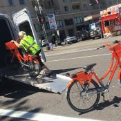 Portland now using pedal-powered trikes to help rebalance bike share stations