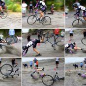 Riders battle epic sand trap at Het Meer cyclocross race