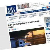 The Monday Roundup: Slower trucks, MAMILs, bikeway band-aids, and more