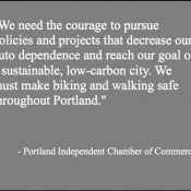 Portland's new chamber of commerce wants more business support for Vision Zero