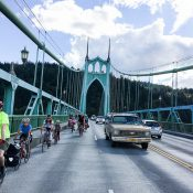 Protest ride will 'Take the Lane' on St. Johns Bridge this Thursday