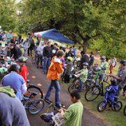 East Portland kids flock to 'Mountain Biking Day' at Ventura Park