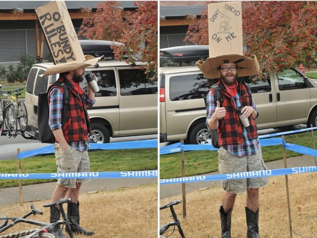 There were quite a few costumes based on current events and politics.