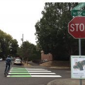 Bike law expert says PBOT's crossbike markings create confusion
