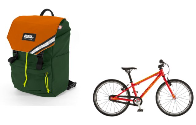 North St. Bags' new Morrison backpack/pannier and the new Cnoc 20 from Islabikes.