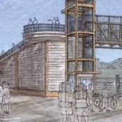Cascade Locks unveils designs for new carfree bridge into Marine Park