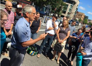 Mayor Hales has rolled up his sleeves to make something happen on Naito.