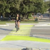 The Monday Roundup: Hand signals, glowing bikeways, safety vigilantes, and more