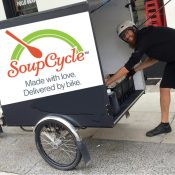 Cargo trike company B-Line takes over delivery for SoupCycle